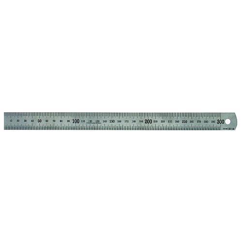 Pravítko Strend Pro SSR0030, 0300x26x07 mm, nerezové, INOX