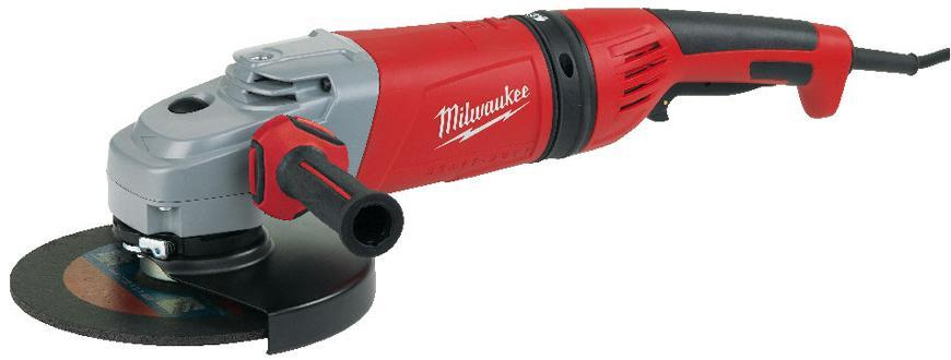 Bruska Milwaukee® AGVM 26-230 GEX/DMS, 230 mm, 2600W, B-Guard, uhlová