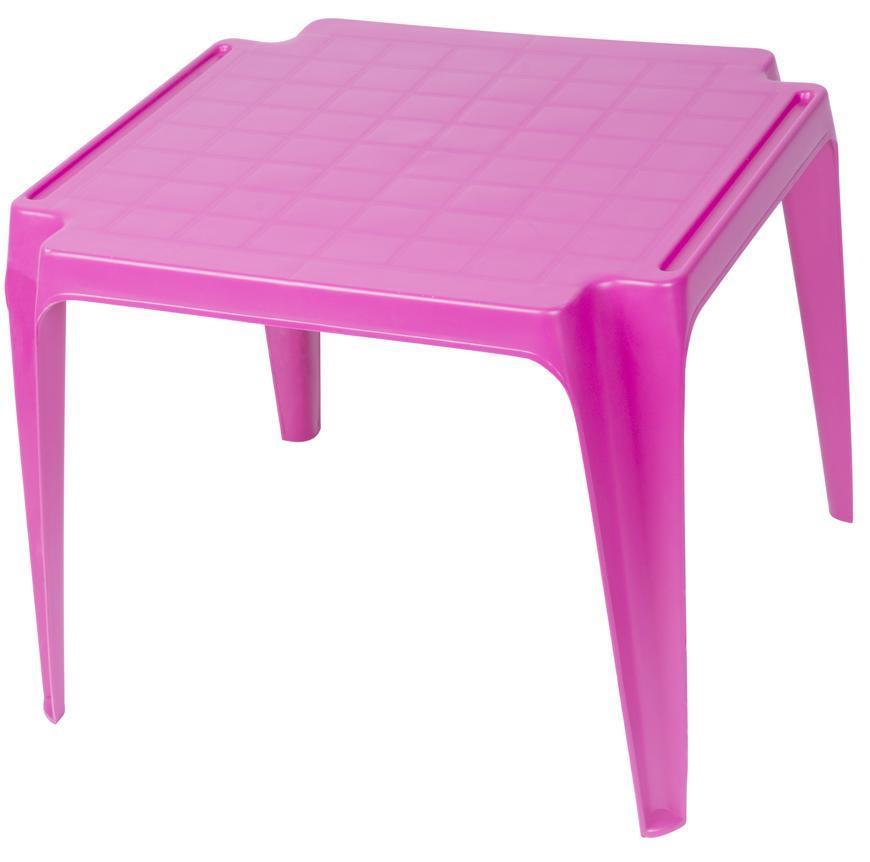 Stôl TAVOLO BABY Pink, ružový, detský 55x50x44 cm