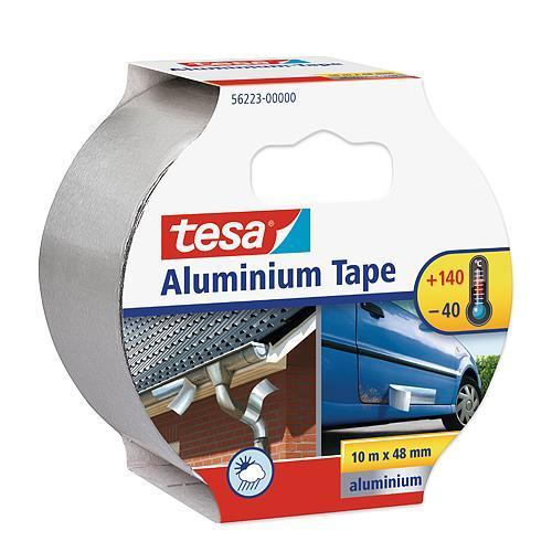 Páska tesa® Aluminium, hliníková, premium, 50 mm, L-10 m