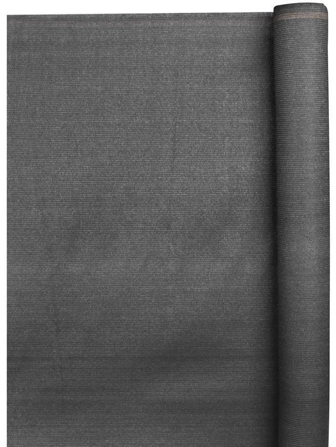 Tkanina SHADE.NET 1,5x50 m, UV, 230 g/m2, antracit, 95%
