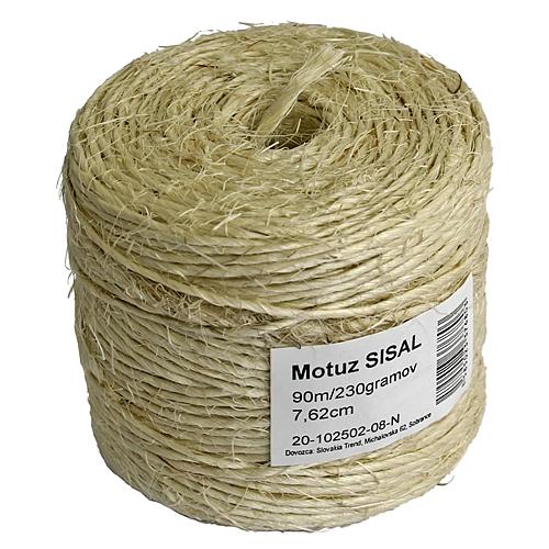 Motuz Sisal 03 090 m/230 g, TubePack