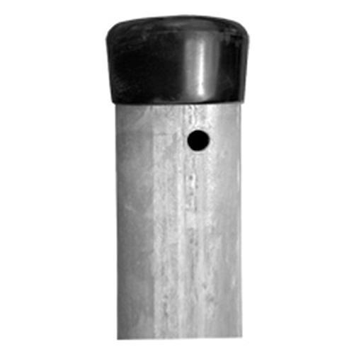Stĺpik Strend Pro METALTEC ZN, okrúhly, čiapočka, 48/1,5/2500 mm