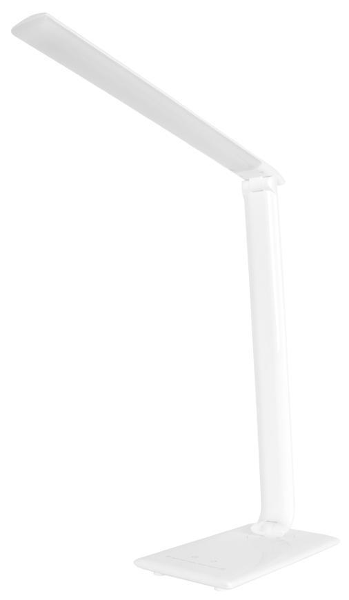 Lampa LED, stolná, stmievateľná, biela, USB, voľba teploty svetla, 12 W