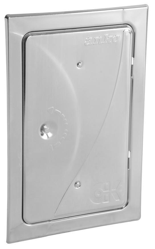 Dvierka Anko C2.2G 160x280 mm, komínové, ZN, revízne