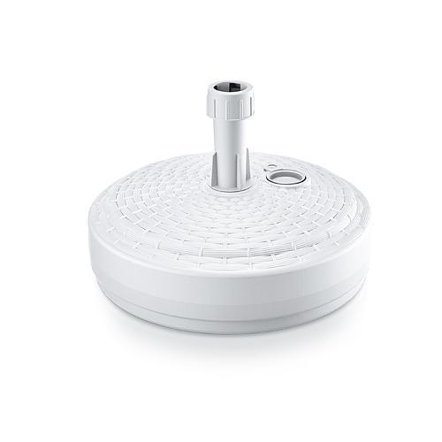 Stojan MPOR, biely, 390 mm, PVC, na plážový slnečník/dáždnik 20-26 mm