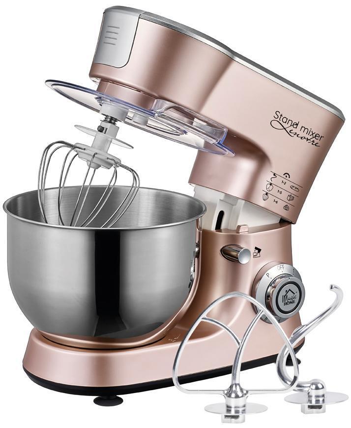 Kuchynský robot MagicHome, Lenotre, 1000W, 230V, 3v1, ružovozlatý