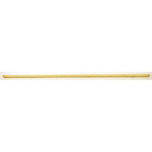 Násada na metlu, 125 cm, drevená so závitom