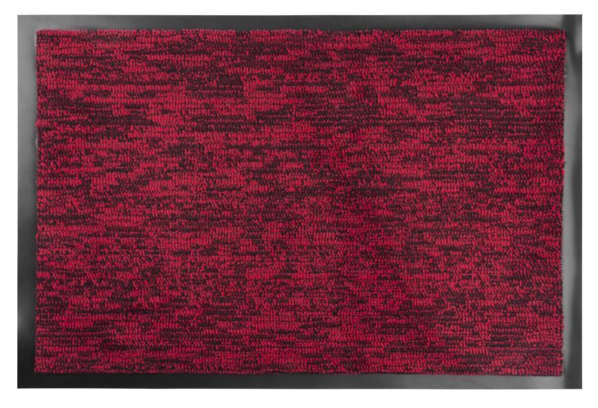Rohožka MagicHome CPM 303, 40x60 cm, čierna/červená