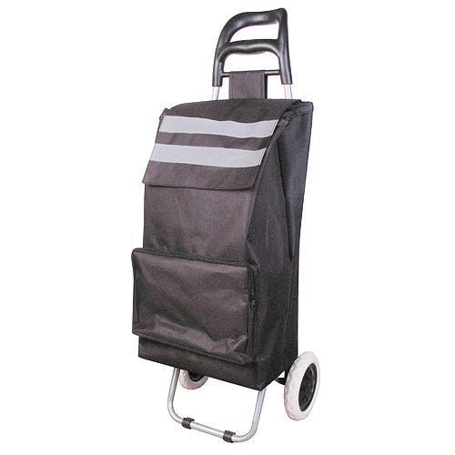 Vozik Demeter, PE/PVC, EVA, 30 kg, 35x30x96 cm, nákupný
