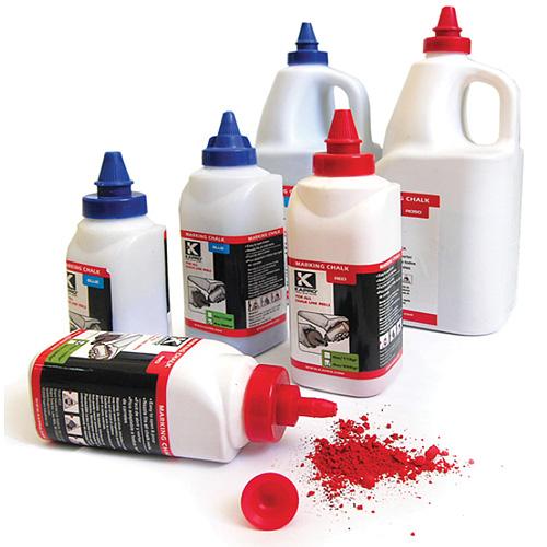Púder KAPRO® 222 226 g, značkovací prášok, červený