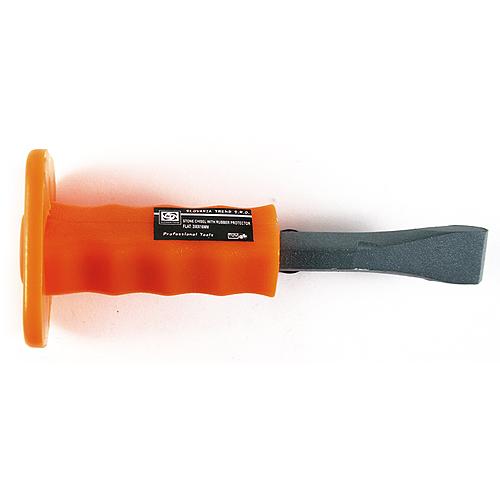 Sekáč Strend Pro CC480, 200 mm, plochý, s PVC rukoväťou a chráničom