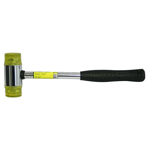 Kladivo silikónové 07-801c-4 • 040 mm, kovová rúčka 29.5cm