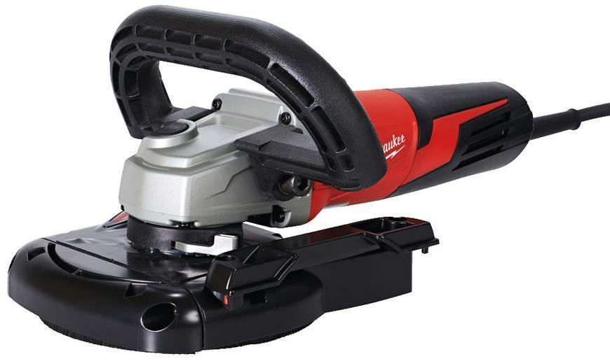 Bruska Milwaukee® AGV 15-125 XE DEG-SET, 125mm, 1550W, s krytom