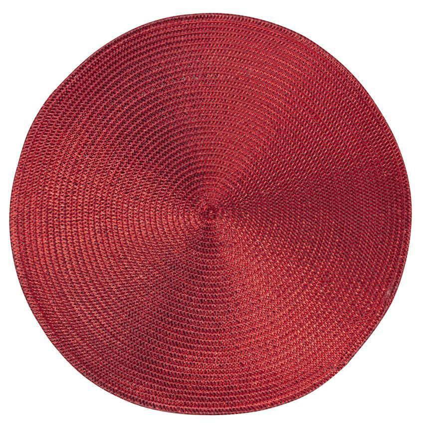 Podlozka MagicHome pod tanier, 38 cm, červená