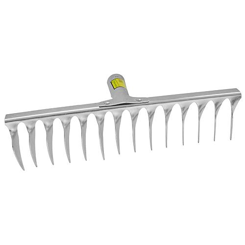 Hrable R108A.WH, 14 zubé, na trávnik, s násadou