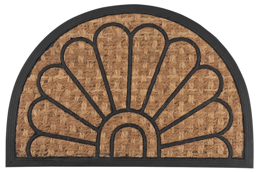 Rohozka MagicHome RBP 139, Peacock, 40x60 cm, guma/panama