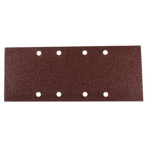 Papier KONNER VED-15, 115x230 mm, P120, 8 dier, brúsny, do vibračnej brúsky, bal. 10 ks