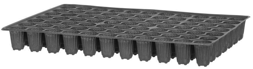Sadbovač Strend Pro, na priesady, 50x32x5,5 cm, 77 priesad, okrúhly