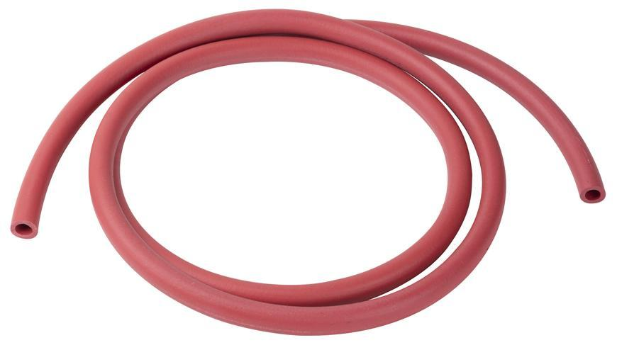Hadica na víno 12/8 mm, 150 cm, celogumová, červená, potravinárska