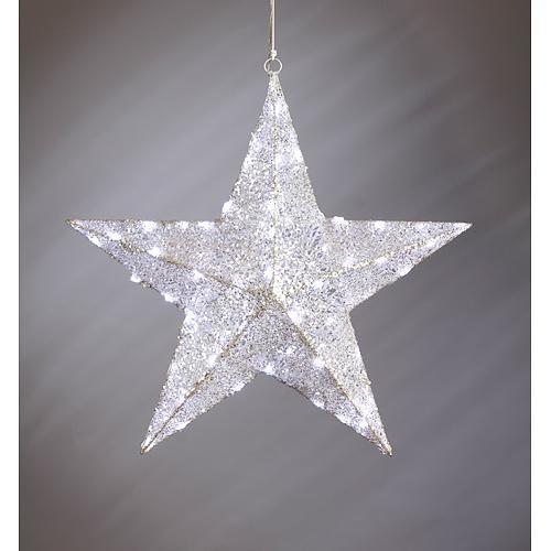 Hviezda MagicHome Vianoce, LED, 3xAA, drôtená