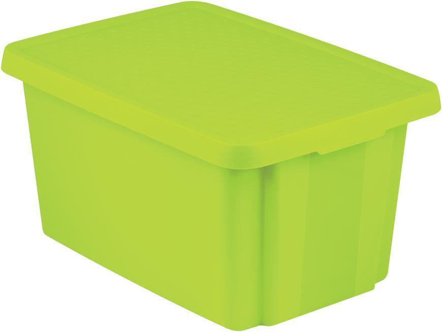 Box Curver® ESSENTIALS 45L+LID, zelený