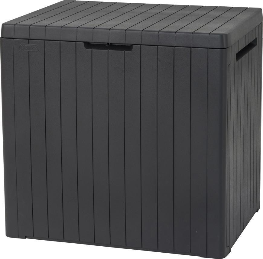 Box Keter® City storage box 113L, antracit