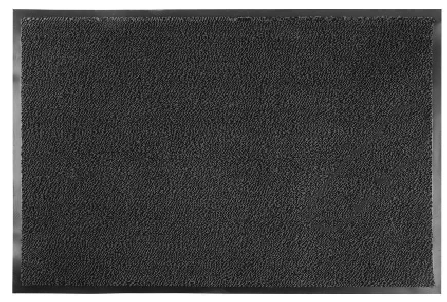 Rohožka MagicHome CPM 304, 60x90 cm, čierna/šedá