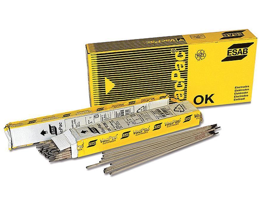 Elektrody ESAB OK 13Mn 3.2/450 mm • 2.4 kg, 51 ks, 6 bal. (86.08)