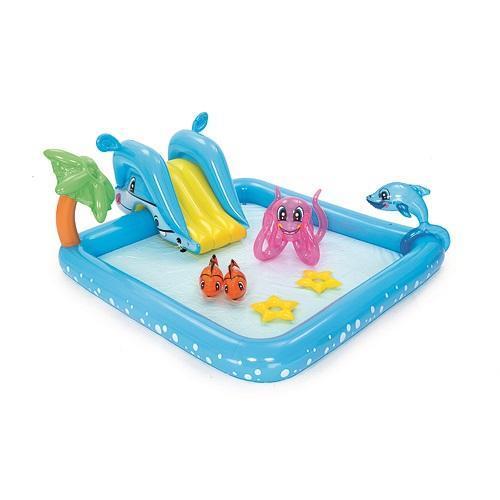 Bazénik Bestway® 53052, Fantastic Aquarium, detský, 239x206x86 cm, nafukovací