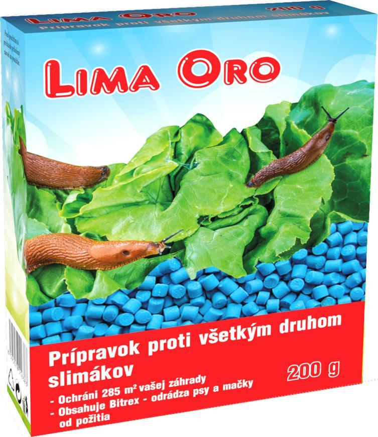 Chémia Lima Oro 3%, 200 g granule, proti všetkým druhom slimákov, Bitrex