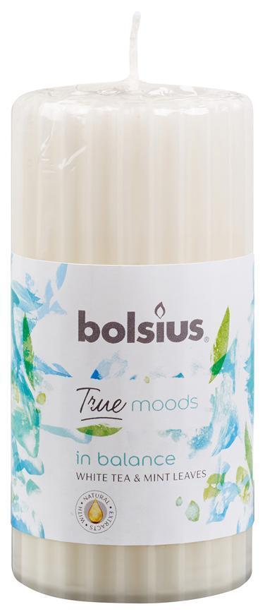 Sviecka bolsius Pillar True Moods 120/60 mm, New energy (grapefruit a zázvor)