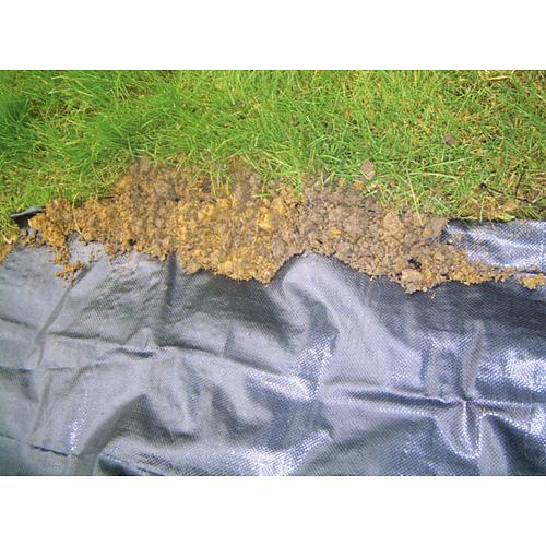 Textilia Garden H1101 1,5x10 m, 100 g/m2, tkaná, čierna