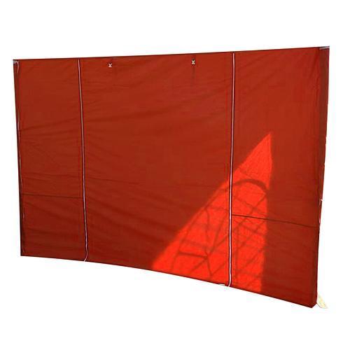 Stena ELVIS, 300x600 cm, červená, pre stan