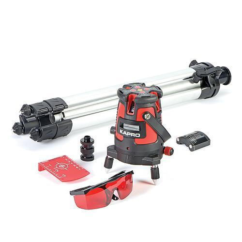 Laser KAPRO® 875S Prolaser®, Beamfinder™, RedBeam, v kufri