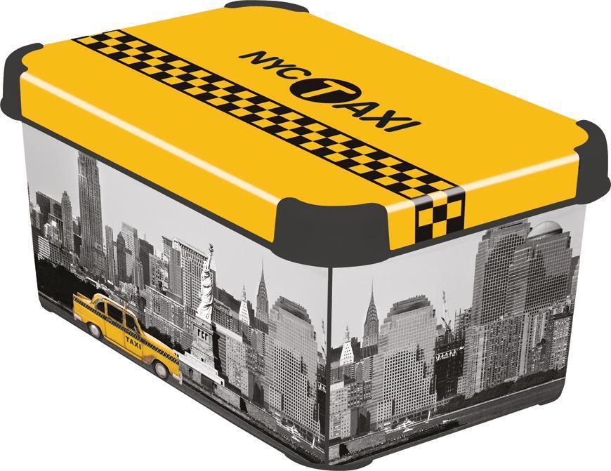 Box Curver® DECO STOCKHOLM S, NYC, 30x14x20 cm