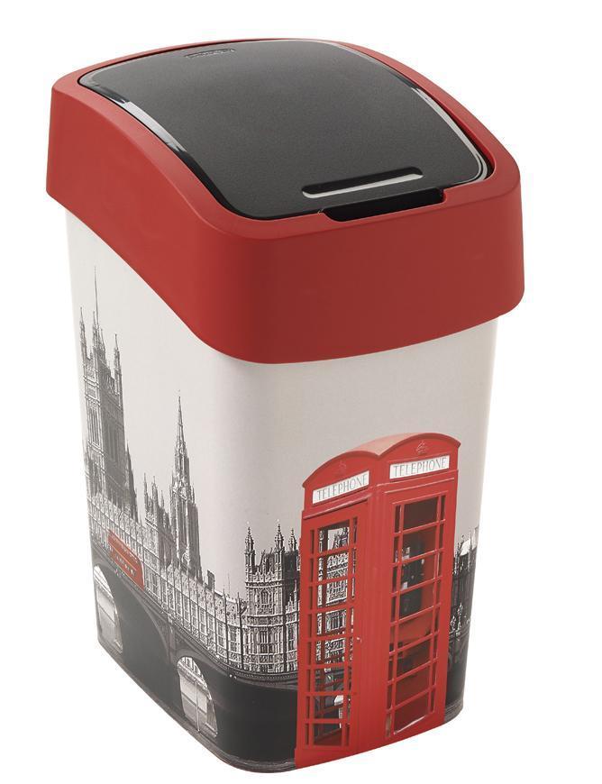 Kôš Curver® FLIP BIN 25L, LONDON, na odpad