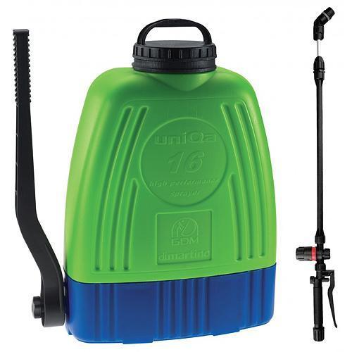 Postrekovac dimartino® GDM® UniQa, 16 lit., chrbtový