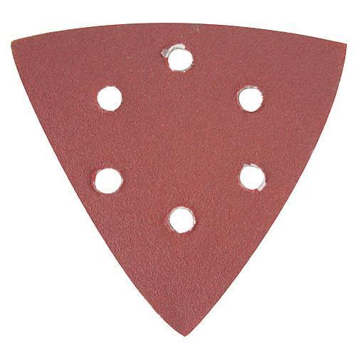 Výsek Worcraft MF-300, 6 dier, brúsny, Triangle, 10 ks, P080