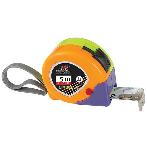 Meter WorkTiger 23 05,0 m, 19 mm, zvinovací, ABS