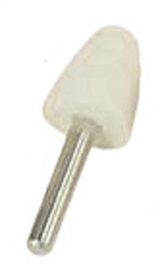 Kotuc GermaFlex PKS 25x30-6 mm, Filc, stopka, plny, 20.500 ot/min