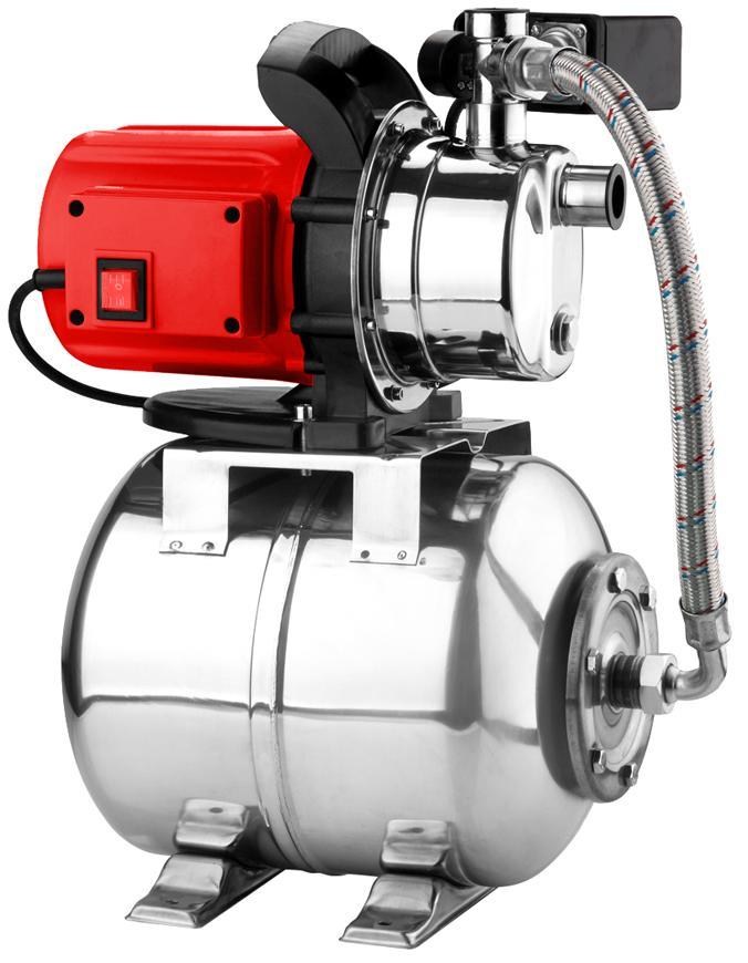 Domáca vodáreň Strend Pro Garden 1000W, 3500 l/h, 24 lit., nerez