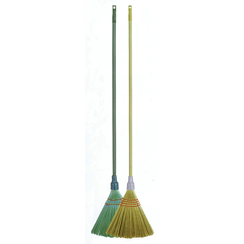 Metla Cleonix 3805G, Sorgo, zelená, násada 148 cm, Alu