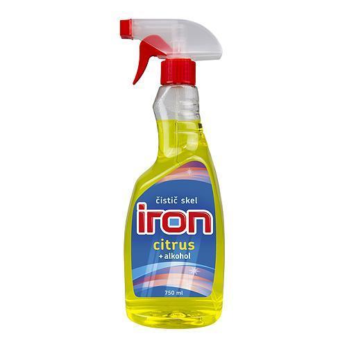 IRON Citrus 750 ml, + alkohol, čistič skla, rozprašovač