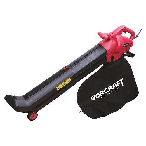 Fukar Worcraft VB30-45, 45 lit, 3000W, + vysávač lístia, elektrický, 2in1