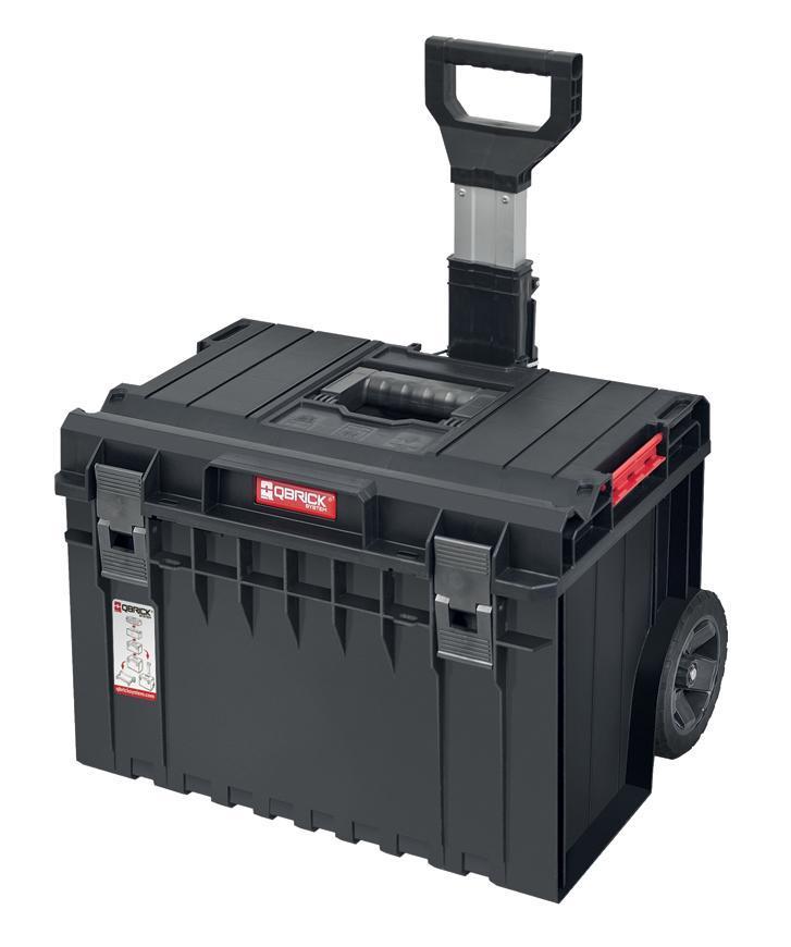Box QBRICK® System ONE Cart Basic, GRATIS Kufrik QS PRO