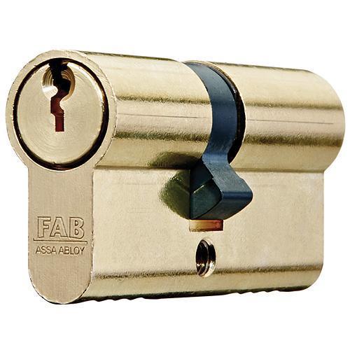 Vložka cylindrická FAB 100D, spoločný kľúč