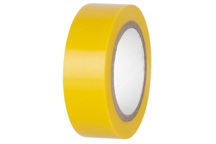 Páska E180YEL, žltá, izolačná 19 mm, L-10 m, PVC