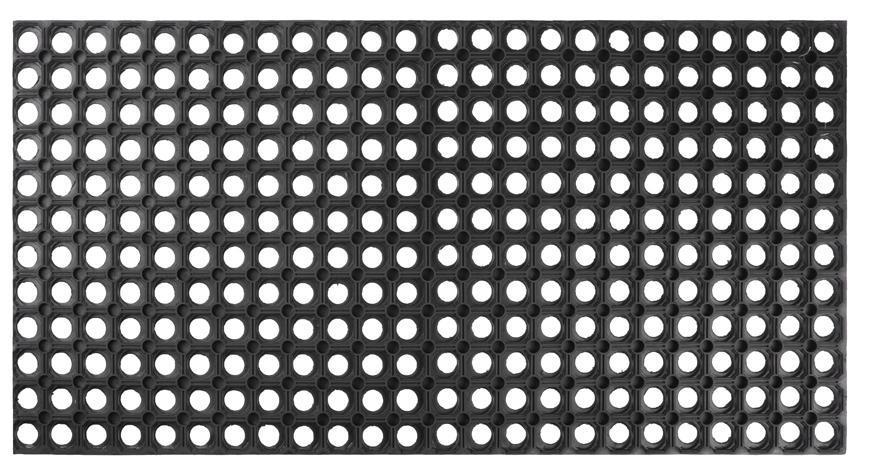 Rohozka MagicHome RBR 038, Honeycomb, 100x50x1,5 cm, guma