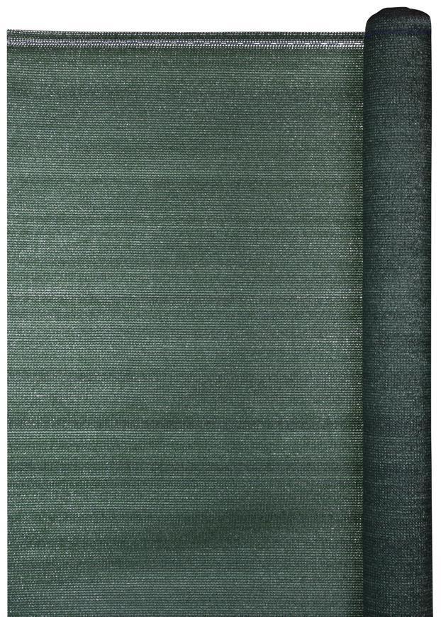 Tkanina tieniaca POPULAR.NET 2,0x25 m, HDPE, UV, 150 g/m2, 85% zelená
